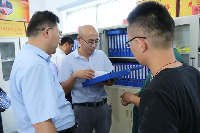临沭县应急系统组团到高峰头镇学习交流安全生产网格化管理工作
